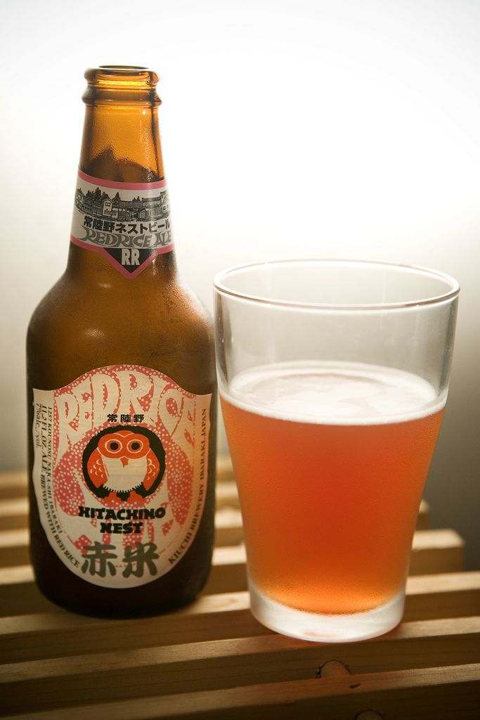 Hitachino Nest Red Rice Ale  |  Belgian Strong Pale Ale  |  7% ABV  |  Japan
