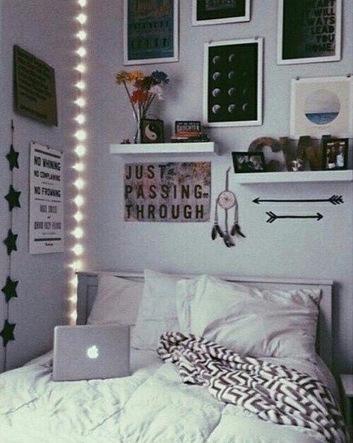 Image via We Heart It https://weheartit.com/entry/158088172 #bedroom #dreamroom #tumblrroom