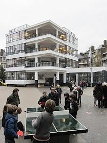 Restauratie Eerste Openluchtschool 2010: het gebouw als school