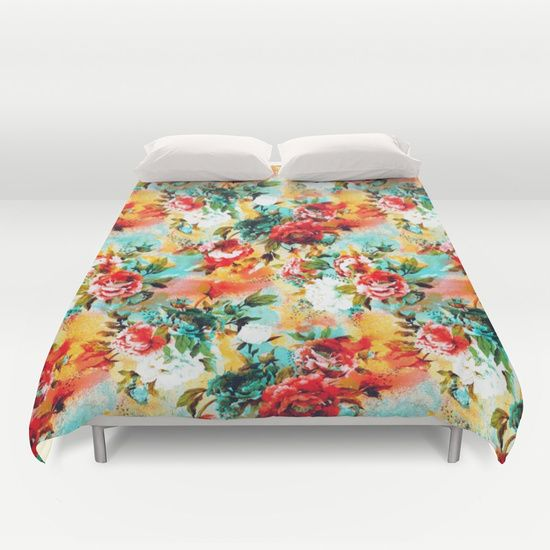 Check out society6curated.com for more! @society6 #floral #flowers #pattern #home #decor #comforter #duvet #covers #homedecor #sleep #nighttime #bed #bedding #bedroom #apartment #apartmentgoals #sophomore #year #college #student #dorm #buy #shop #shopping #sale #art #awesome #sweet #cool #botanical #orange #blue #green #white #red