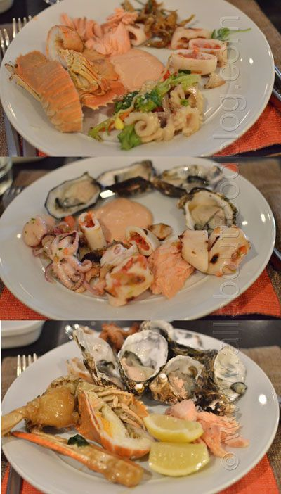 Spectacular Seafood Buffet from Cafe Mix, Shangri-La Hotel