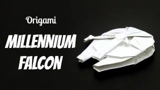 star wars origami - YouTube