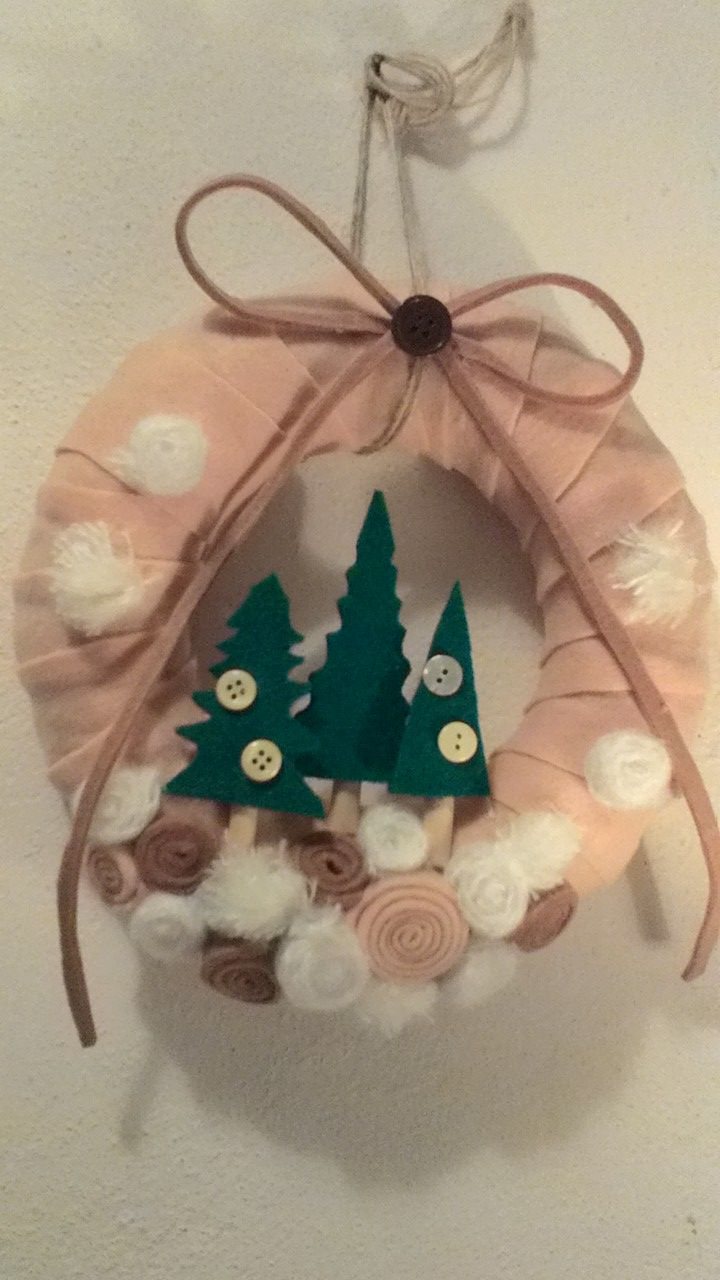 Handmade Christmas wreath
