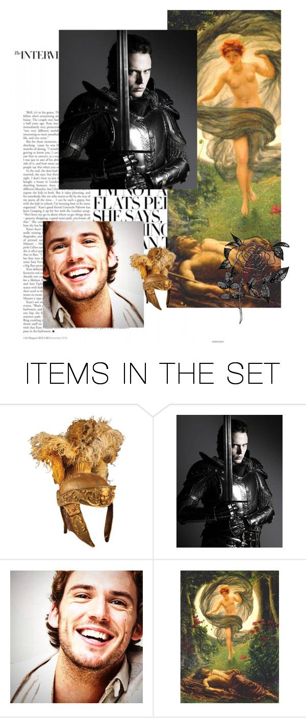"""""""Sam Claflin as Endymion,king of Elis"""" by danicathorne on Polyvore featuring arte"""