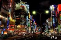 Toyko! Look at all the lights:)