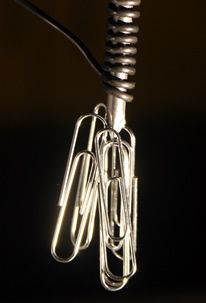 MAKE AN ELECTROMAGNET. They run on electricity and are only magnetic when the electricity is flowing.