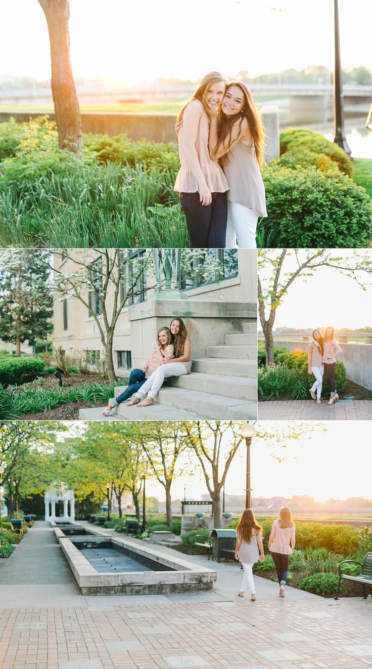 Dayton Ohio Best Friend Session - Lux Senior Photography