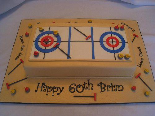 Curling Cake