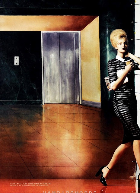 Shot by Craig McDean for the March '12 American Vogue