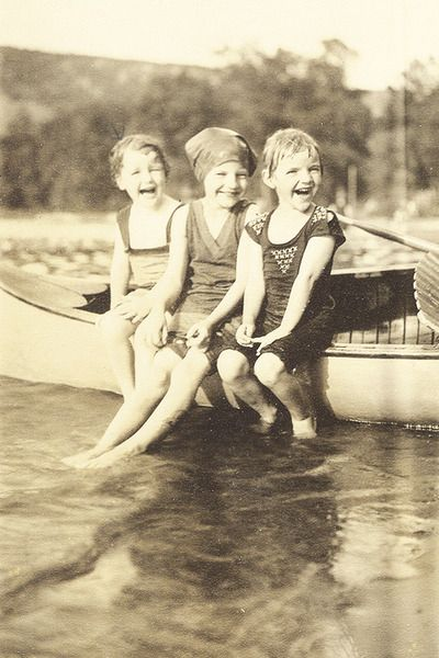 Summer, 19--'s, I'm not telling what year. But weren't we just so cute?.................