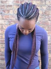 Natural Edgez: One Edgy Natural Hair Stylist Goddess braids hairstyle – thirstyroots.com: Black Hairstyles and Hair Care