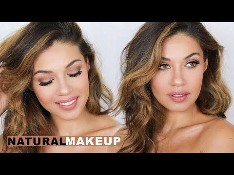 Natural Everyday Makeup   Smashbox Full Exposure Palette   Eman - YouTube