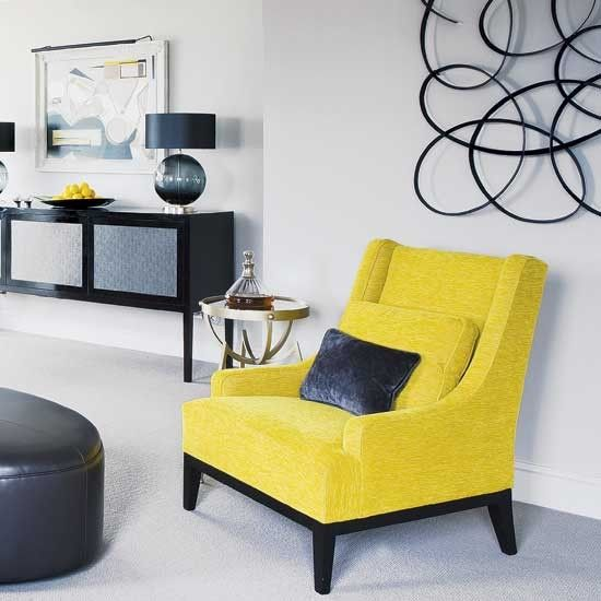 Yep, loving the yellow. Living room or bedroom