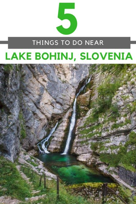 Slovenia Travel Blog: The Lake Bohinj Region of Slovenia is filled with picturesque scenery and adventure around every corner. Don't miss these top 5 things to do when visiting. Click to find out more!