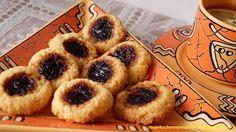 Moje                                                                       Kuchenne Rewelacje  : Ciasteczka z kleiku ryżowego z powidłami śliwkowym...