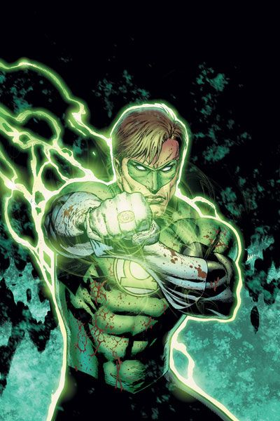 In brightest day in darkest night no evil shall escape my sight may those who worship evils might beware my power, green lanterns light!