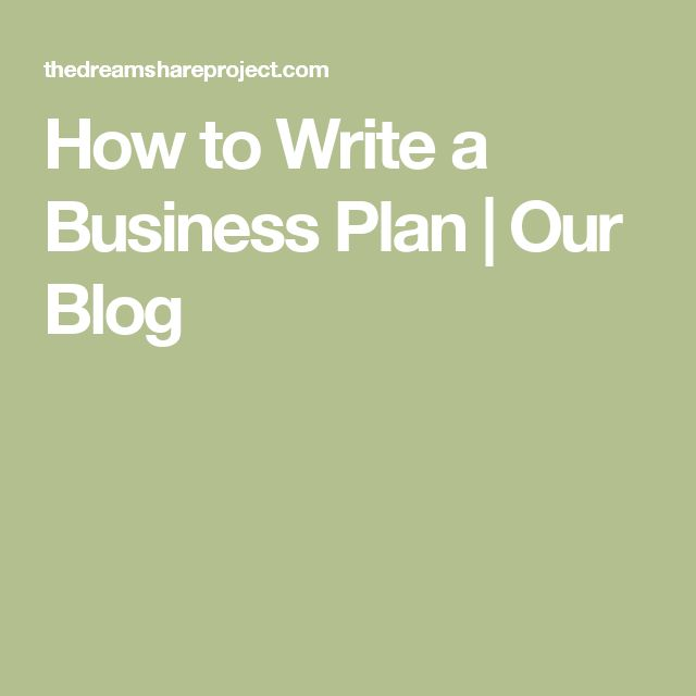 Custom written business plans