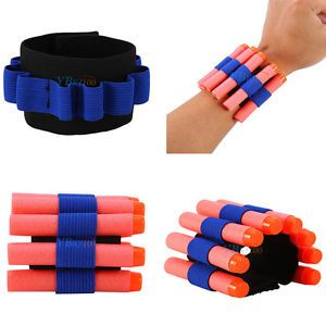 Ammo Bullet Dart Holder Carrier Bandolier Elastic Band for Nerf N-strike CS Game | eBay