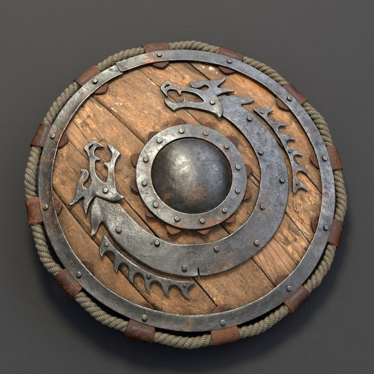 This is what I would like my Viking shield look like.