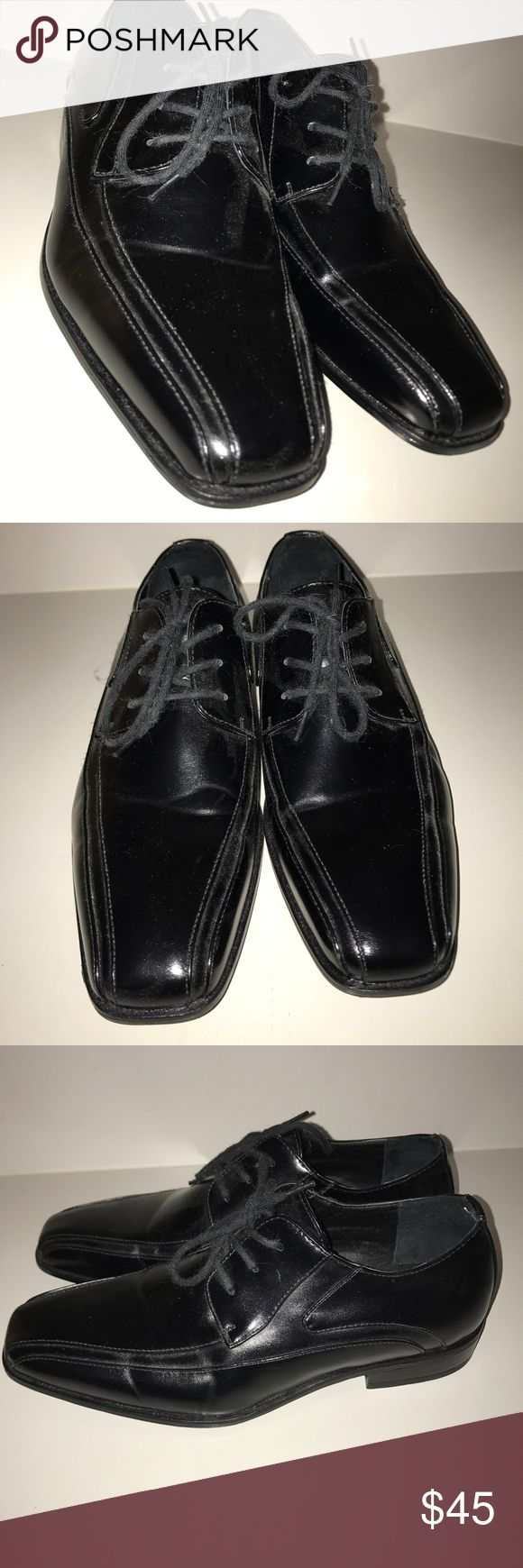 SALE!! MUST GOOOO STACY ADAMS DRESS SHOES Worn once and in amazing condition! Smells brand new still! Stacy Adams Shoes Dress Shoes