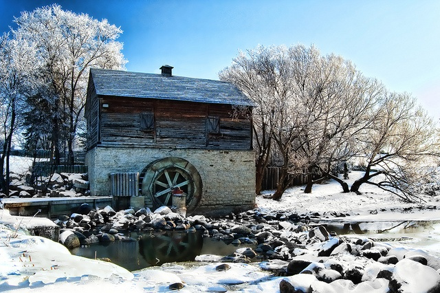 Grant's Mill by Gail Lamm, via Flickr. Winnipeg, Manitoba.