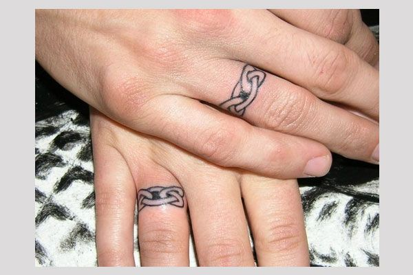 Christian Wedding Ring Tattoos: 14 Best Christian Wedding And Marriage Symbols Images On