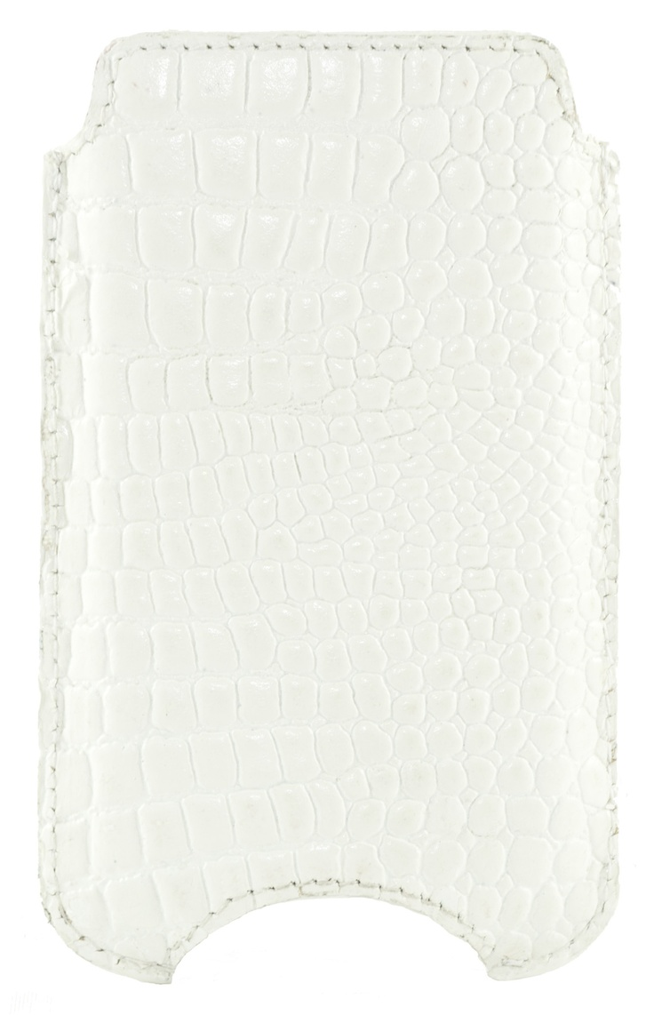 Skinny white iPhone case by dbramante 1928, see more of our product range at http://www.dbramante1928.com