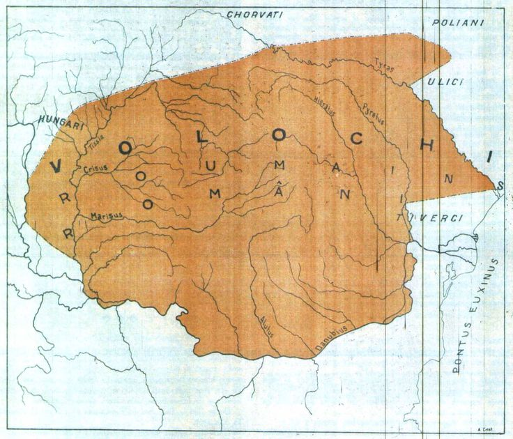 Tarile Romane, Romanii, Cronica lui Nestor