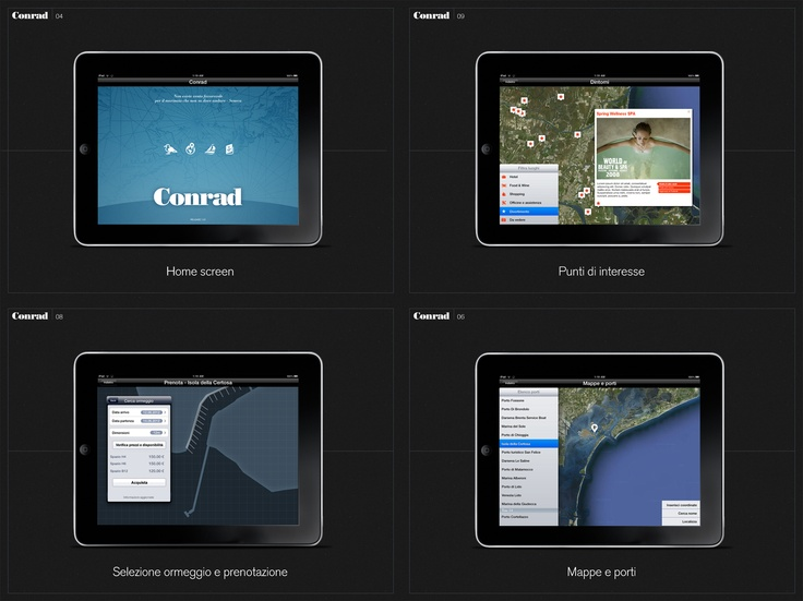 Conrad | Proposal for App design | 2012