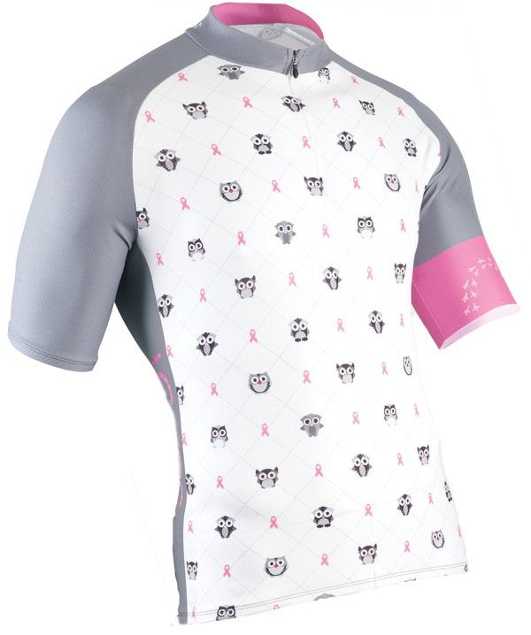 Breast cancer cycling apparel