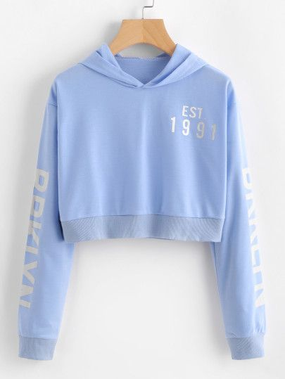 One suerer blue white and print letters