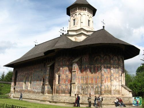 Nobody can describe enough in words what Bucovina region from Romania is hiding. Unique Moldovita Monastery is just one of the gems you can encounter here