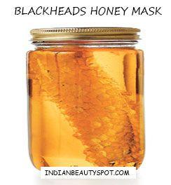 blackheads remedy with honey