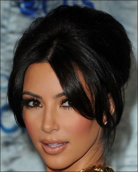 Kim Kardashian Updos 2011 Hairstyle Fashion Makeup 2011 hairstyles | hairstyles