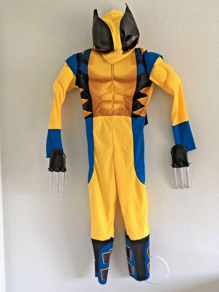Kids Wolverine Halloween Costume Size 5-6