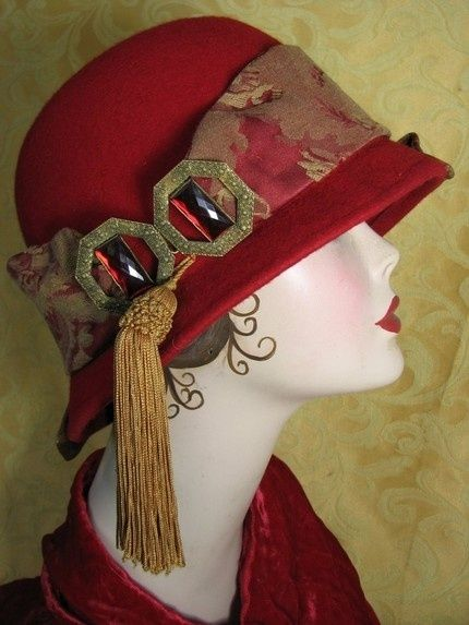 Vintage 1920's hat. by pathkelly