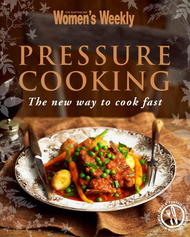 A cookbook of pressure cooker recipes for The Australian Women's Weekly. Creative direction and design by Hieu Nguyen.