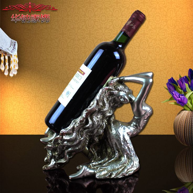 Find More Figurines & Miniatures Information about 2016 Special Offer Modern Pearl Antique Silver Resin Old Hair Beauty Wine Rack Ornaments Crafts Factory Direct Hua Na ,High Quality wine rack wholesale,China wine rack stand Suppliers, Cheap wine rack glass storage from Wooden box / crafts Store on Aliexpress.com