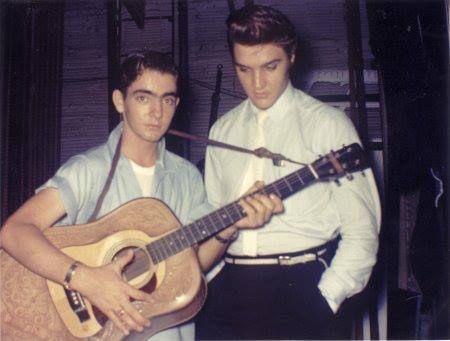Jimmy Velvet & Elvis.   Jimmy Velvet was a young recording artist in the 195's. In 1955, Jimmy was fifteen years old when he first met, then nineteen year old, Elvis Presley . Elvis and Jimmy remained life long close friends. After Elvis Presley's death, Jimmy became the founder and CEO of the Elvis Presley Museum located in Memphis, Nashville, Orlando and Honolulu. The museum was the largest authentic collection of artifacts owned by Elvis in the world.