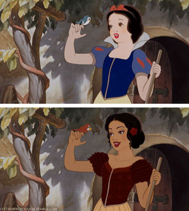 An Artist Reimagined Disney Princesses With Different Races and the Results Will Blow Your Mind   E! Online Mobile