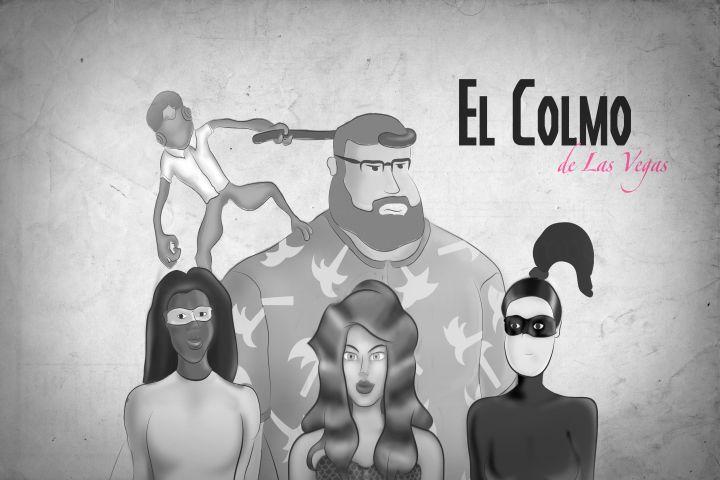 Personajes para comercial promocional de antiheroes / El Colmo de Las Vegas
