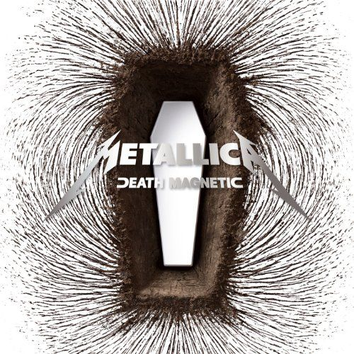 Death Magnetic, 2008 Grammy Awards Packaging - Best Recording Package winner, Bruce Duckworth, David Turner & Sarah Moffat, art directors. #GrammyAwards #GoodMusic #Music
