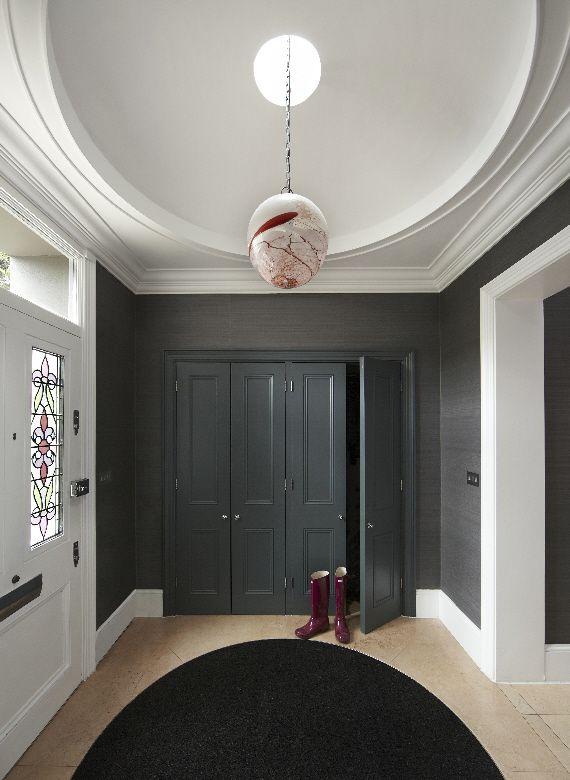 Ebba Thott, entrance Hall, Putney apartment, London