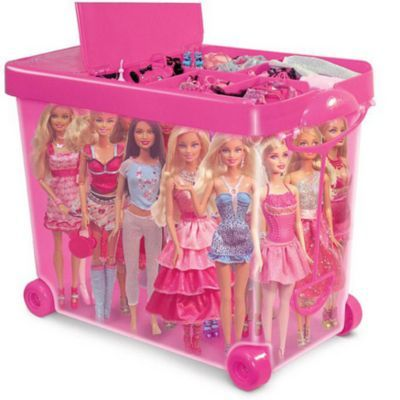 Barbie® Store-It-All Rolling Case - Sears | Sears Canada