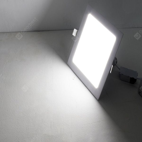 Simple Square Shape Led Panel Light Downlight 2pcs Sale Price Reviews Led Panel Light Downlights Led Panel