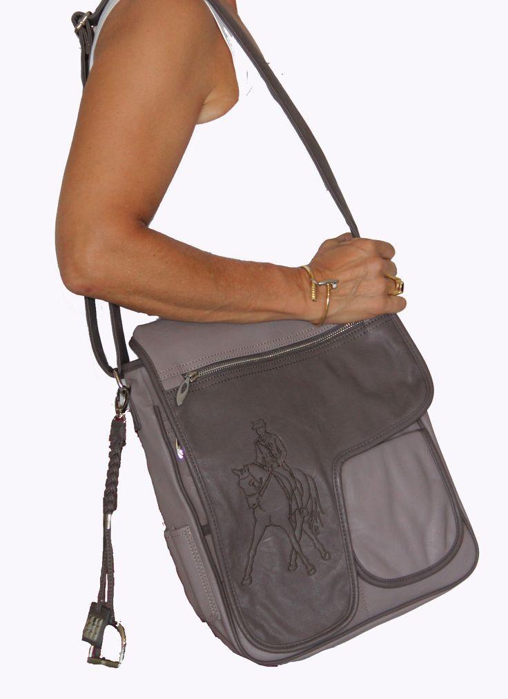 I'm selling Horse Embroidered Designer PU Leather Laptop Bag Unique