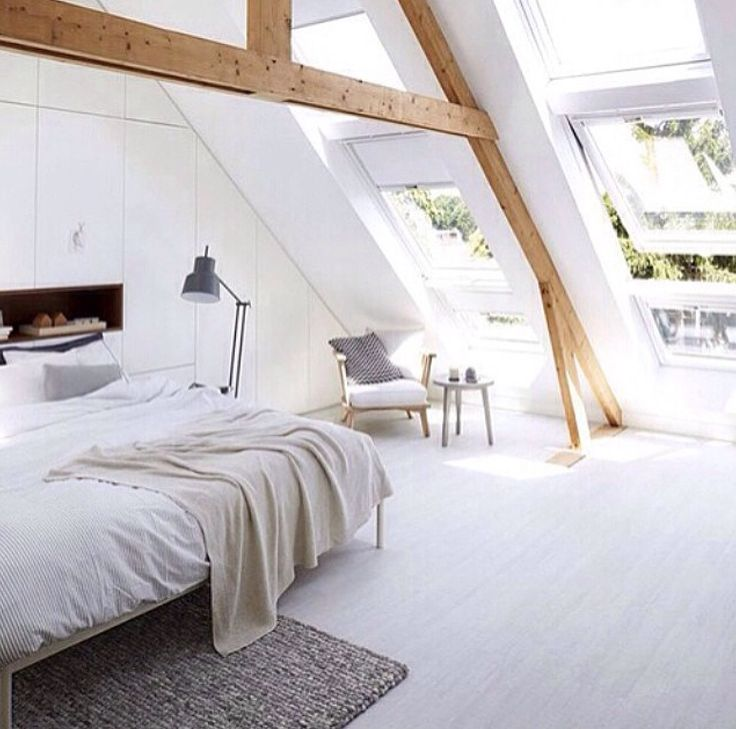 wood beams on white