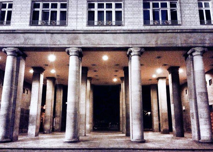 Berlin night, Berlin nachts Frankfurter Tor