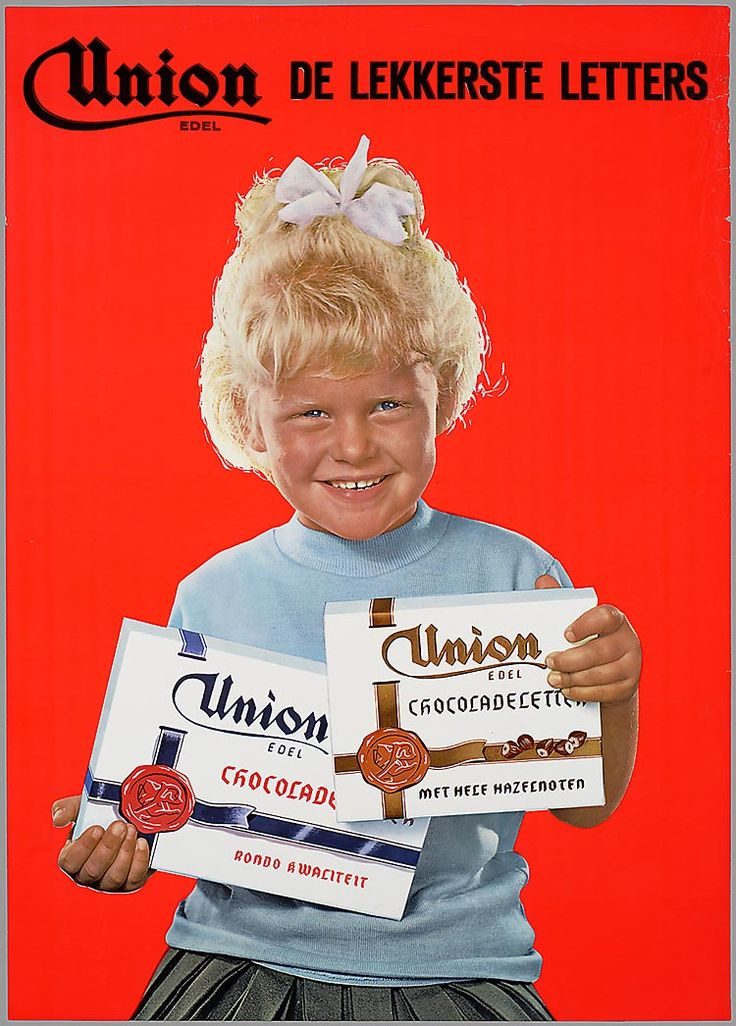 Union Chocolate Letters Ad