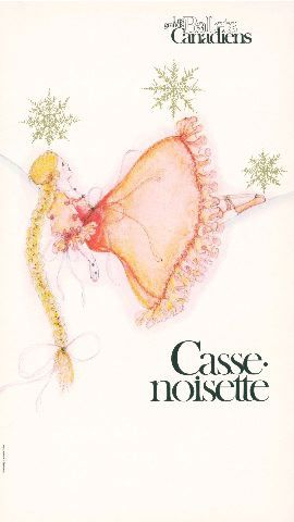 Les Grands Ballets Canadiens : Casse-Noisette [affiche]